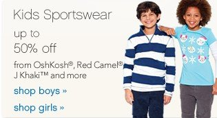 Kids Sportswear. Shop now.