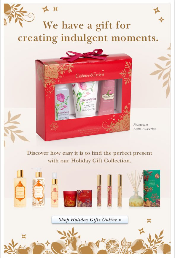Discover how easy it is to find the perfect present with our Holiday Gift Collection. Shop Hand Care Online.