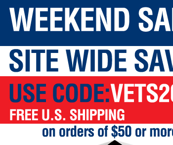 Veterans Day 20% OFF Weekend Sale