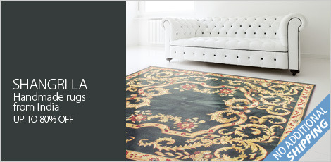 Shangri La: Featuring handmade rugs from India
