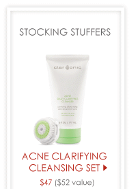 Acne Clarifying Cleansing Set $47 ($52 value) >