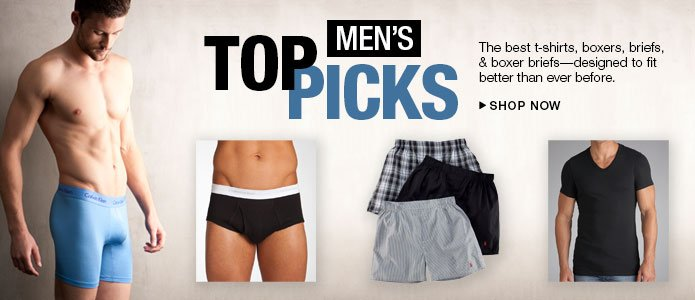 Shop Men's Top Picks