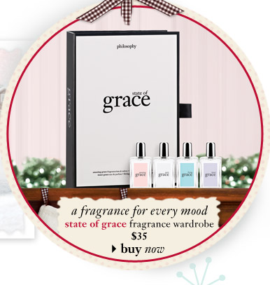 a fragrance for every mood - state of grace fragrance wardrobe $35