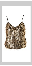 Rectangle Sequin Cami Top