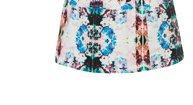Camo Print Lantern Dress