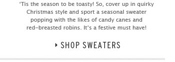 Christmas Knits - Shop Sweaters
