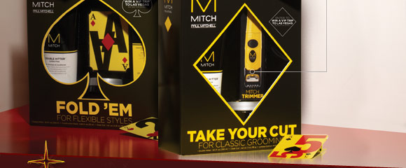MITCH Take Your Cut set features features limited edition MITCH trimmer.