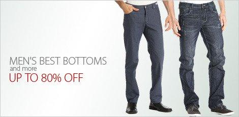 Men's Best Bottoms & More