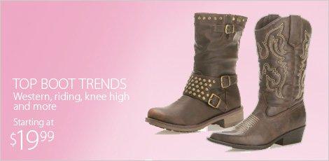 Top Boot Trends