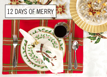 The 12 Days of Merry The Festive Holiday Table