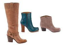 Kick Up Your Feet Boots by Lucky Brand and Kork-Ease