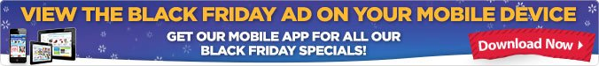 View the Black Friday Ad on your mobile device