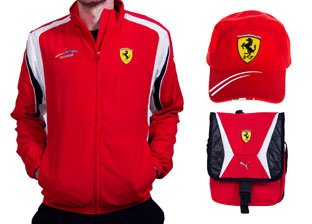 Ferrari Men's Apparel & Accessories