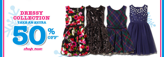 Extra 50% Off Dressy Collection