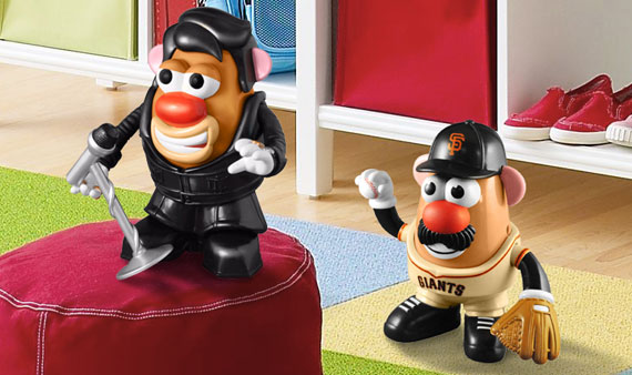 Mr. Potato Head    - Visit Event