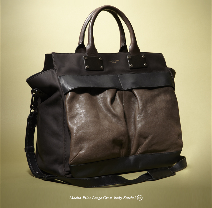 Shop Rag & Bone's new Pilot handbag.