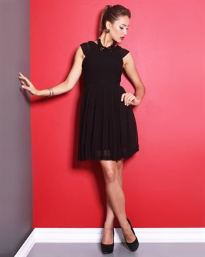 Esley Pleated Dress $45