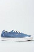 <b>Vans Footwear</b><br />The Authentic Sneaker in Navy