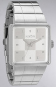 <b>Nixon</b><br />The Quatro Watch in White