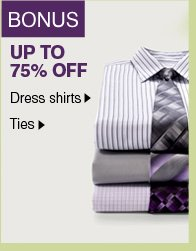 BONUS UP TO 75% OFF