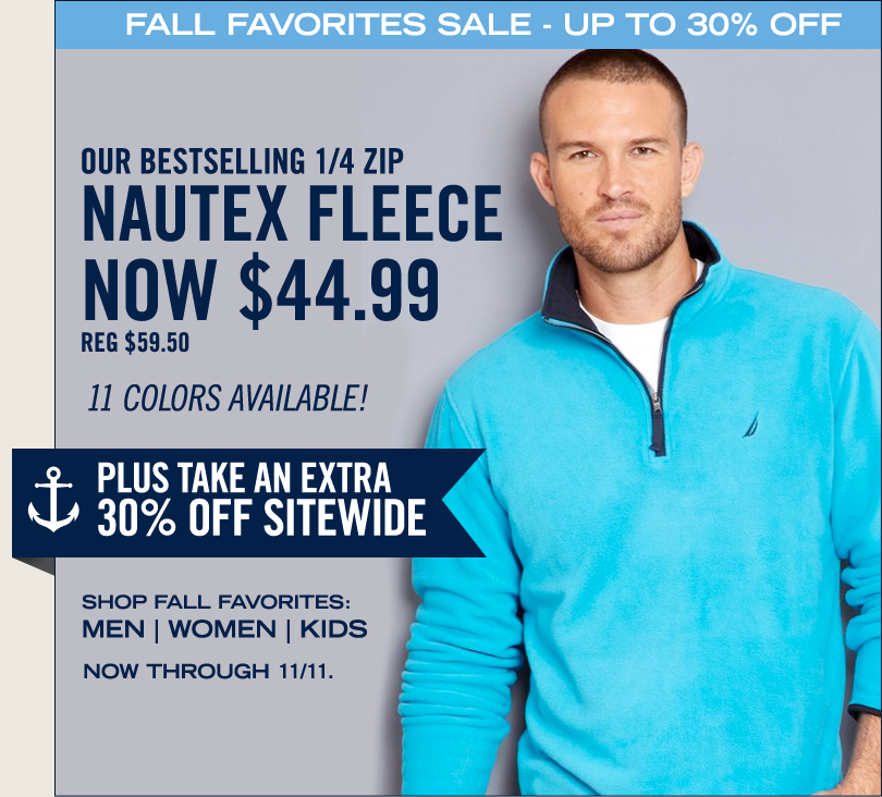 Fall Favorites Sale! Take Up To 30% off PLUS an EXTRA 30% off Sitewide.