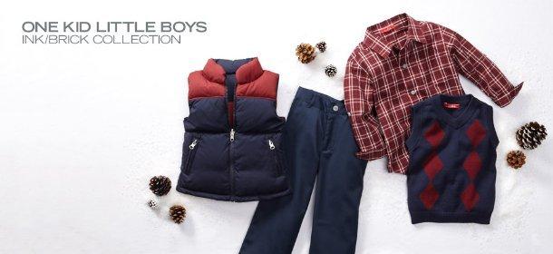 ONE KID LITTLE BOYS: INK/BRICK COLLECTION, Event Ends November 14, 9:00 AM PT >