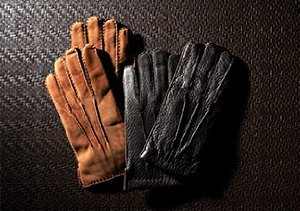 Necessary Accessories: Leather Gloves