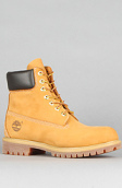 "<b>Timberland</b><br />The Timberland Icon 6"" Premium Boot in Wheat Nubuck"
