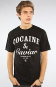 <b>Crooks and Castles</b><br />The Coca & Caviar Tee in Black