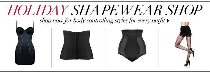 Holiday Shapewear Shop: Get Body Controlling Styles for Every Outfit