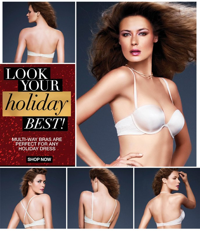 Look Your Holiday Best! Multi-Way Bras are Perfect For Any Holiday Dress