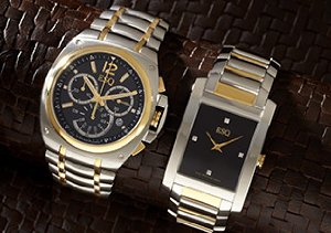 GETTING DRESSED FOR THE HOLIDAYS: MEN'S WATCHES FROM ESQ BY MOVADO