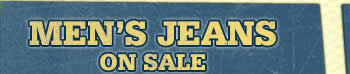 Men's Jeans Header