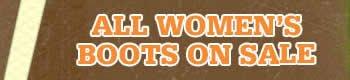 All Women's Boots Header