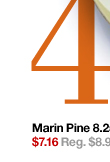 4 Marin Pine 8.25 Salad Plate