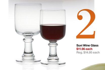 2 Suvi Wine Glass