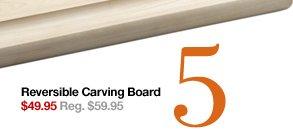 5 Reversible Carving Board