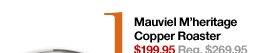 1 Mauviel M'heritage Copper Roaster