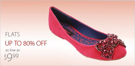 Flats as low as $9.99
