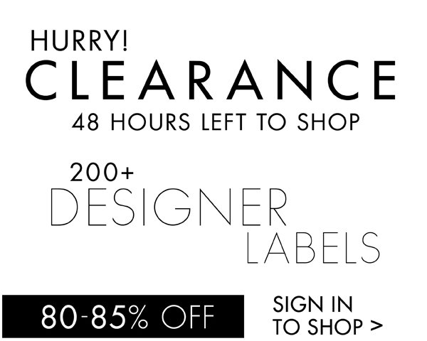 Shop Clearance 80%-85% off >
