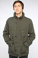 The North Port Parka in Forest