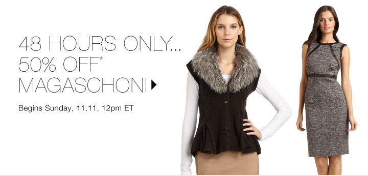 50% Off* Magaschoni...Shop now