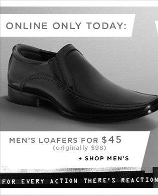MEN'S LOAFFERS FOR $45 (originally $98) + SHOP MEN'S