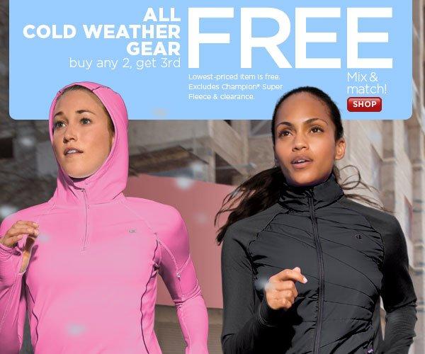 SHOP women's Cold Weather Gear
