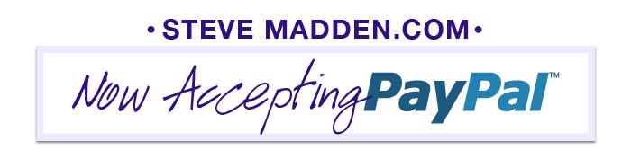 STEVEMADDEN.COM - Now Accepting Paypal!