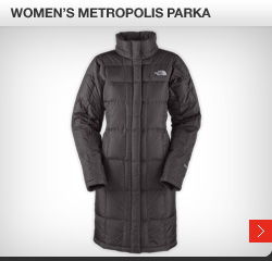 Women's metropolis parka