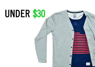 Shop Under $30