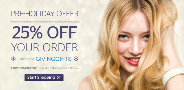 Pre Holiday Offer