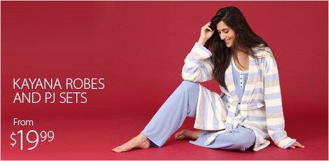 Kayana Robes and PJ Sets