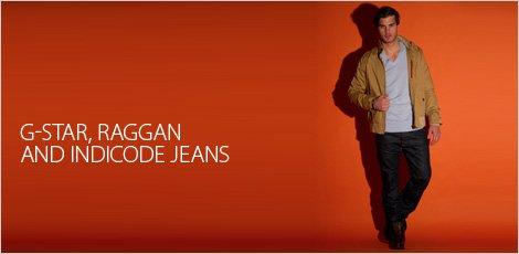 G-star, Raggan & Indicode Jeans